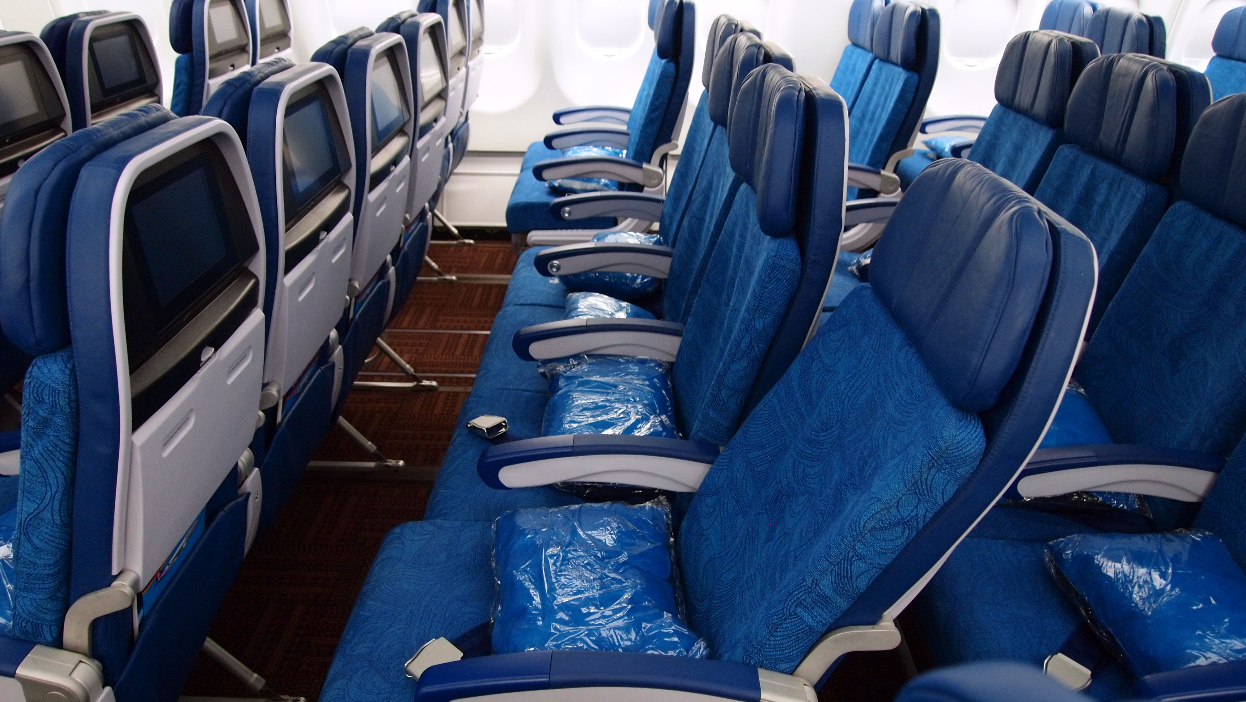 Hawaiian Airlines New A330 Cabin 001 Thedesignair