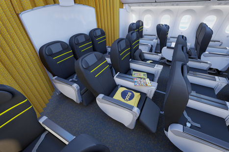 Scoot Boeing 787 Seats Business Class 1500a