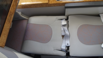 Fully extended seat