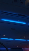 Mood lighting and starry sky ceiling panel
