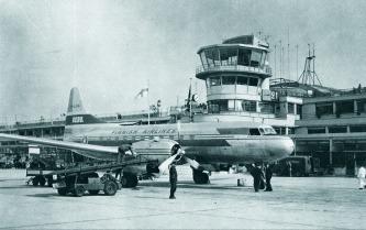 In 1953, the convair CV-340