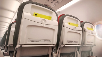Recaro Seat detail Airbus short-haul fleet