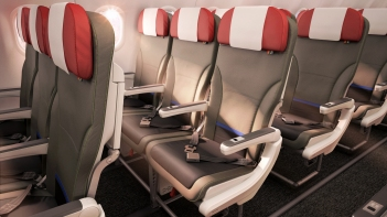 Seat detail Airbus short-haul fleet