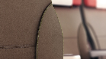 Seat detail Airbus short-haul fleet