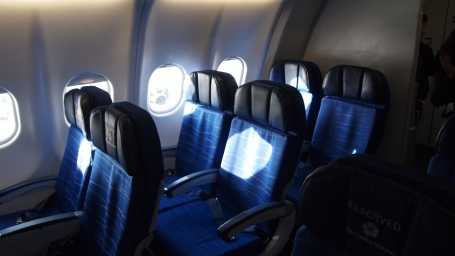 The first 3 rows (11,12,13) of the A330