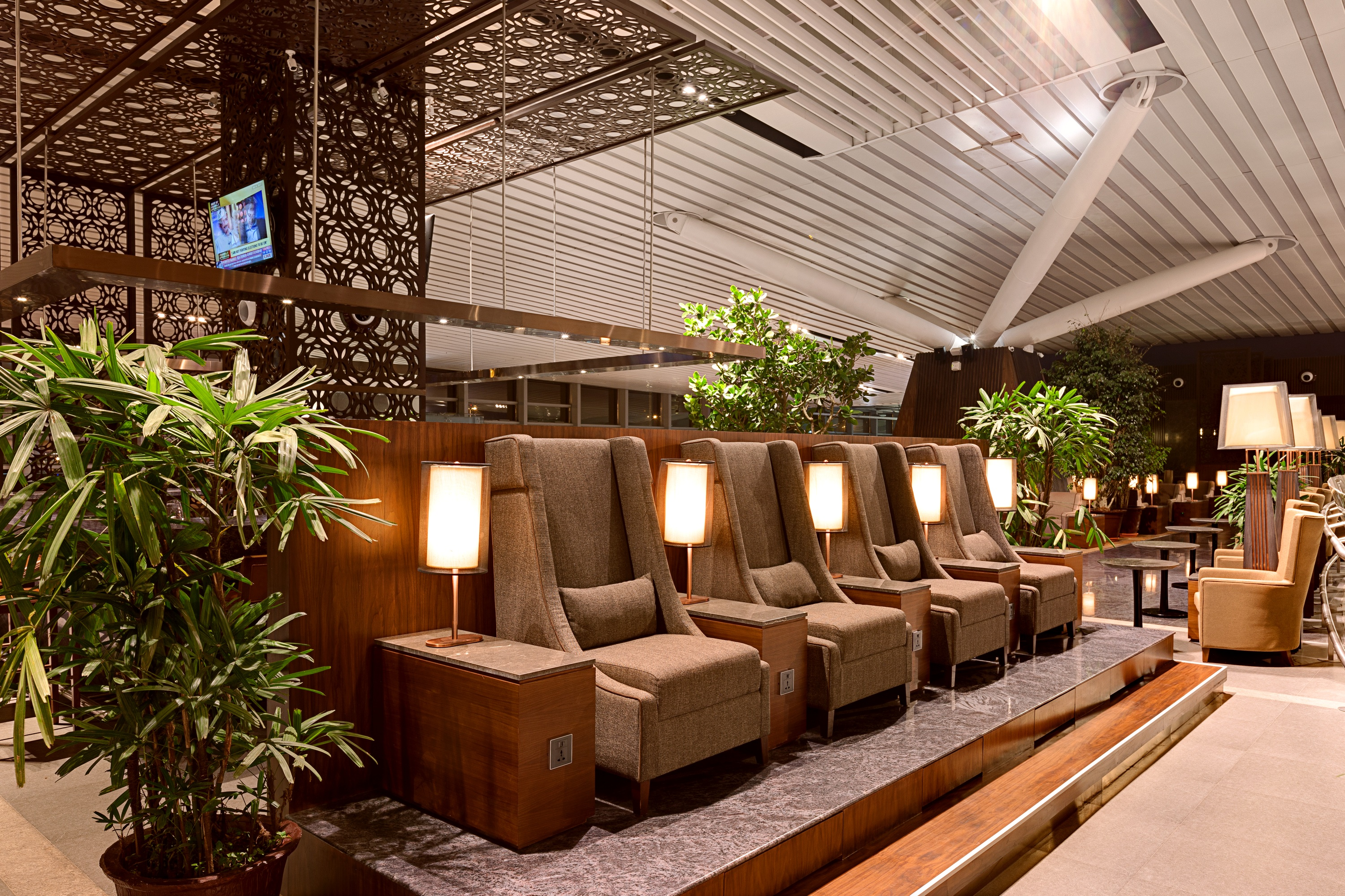 Plaza Premium Lounge Kempegowda Lounge Area Domestic 2