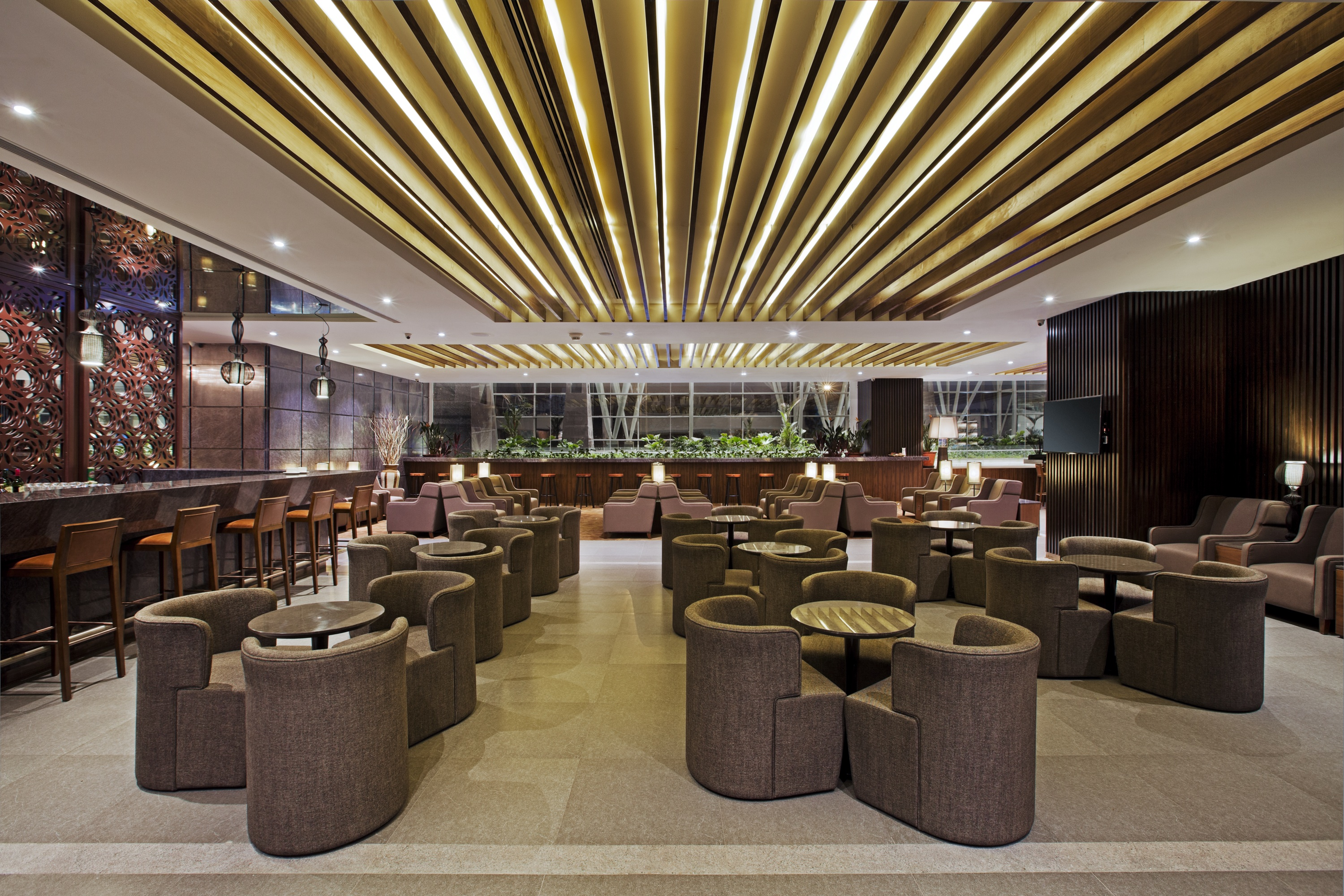 Plaza Premium Lounge Main Lounge Area International
