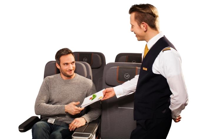 Lufthansa Passage Magazin - Cover Shoot - Premium Economy Seat