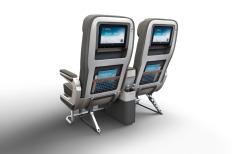 Premium Economy Double Seat rear view