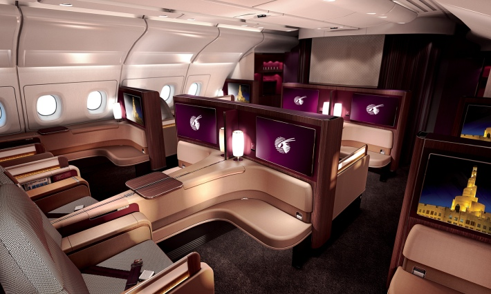 QatarA380firstclass