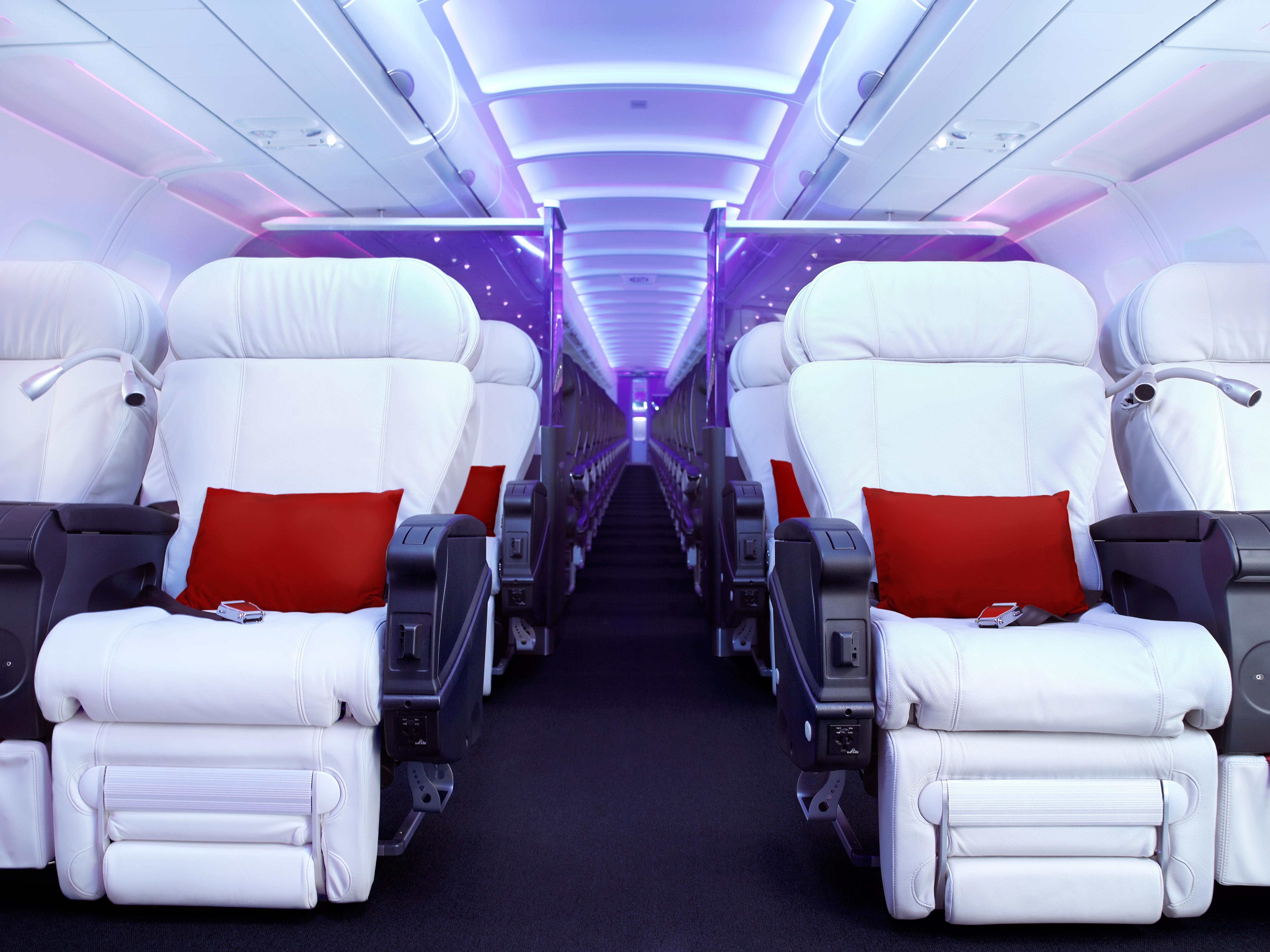 Pic my etihad pearl business class seat 9h on b777 300er may 2012 - Virginamericafirstclass