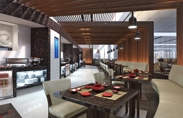 Air China Beijing Zone D Dining