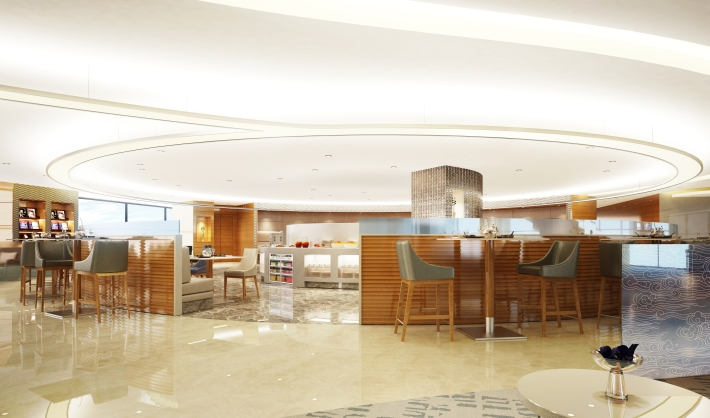Air China's Shanghai Pudong First Class Lounge
