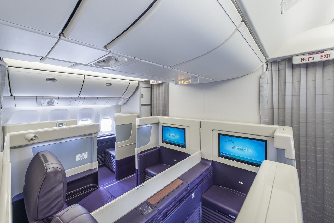 A Closer Look At China Southern S New 777 Interior