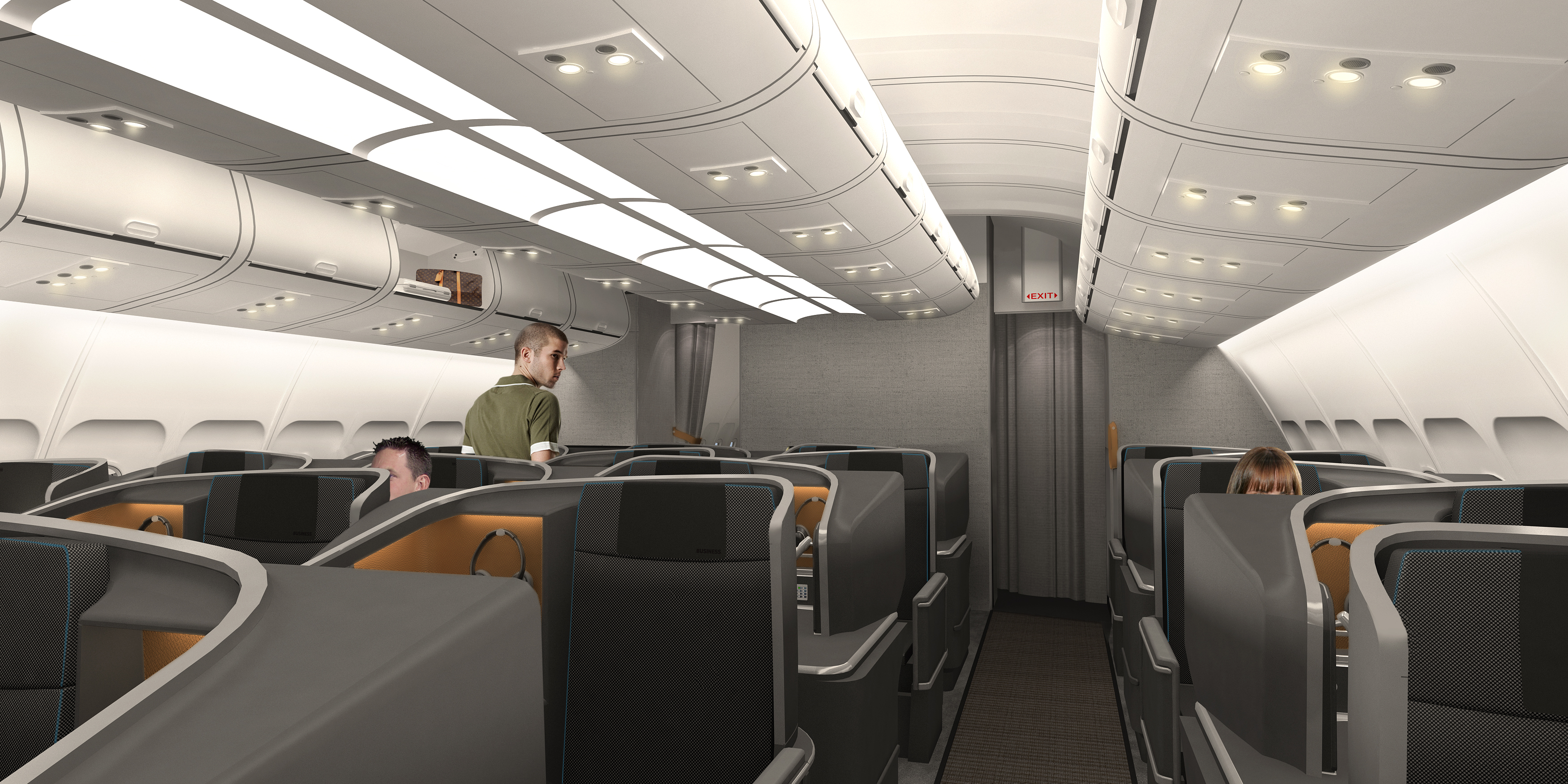Sas Introduce Brand New Long Haul Interiors Thedesignair