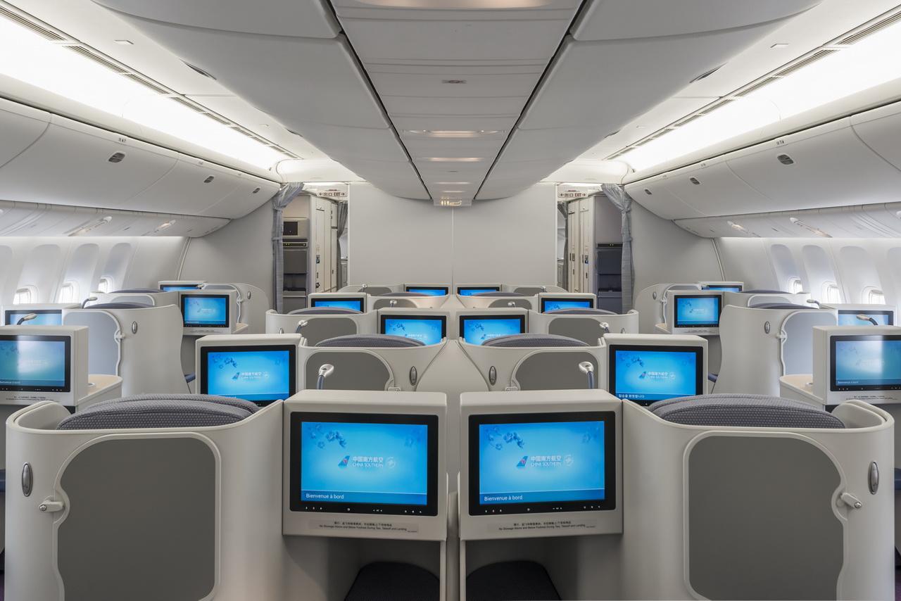 A closer look at china southern s new 777 interior - China southern airlines hong kong office ...