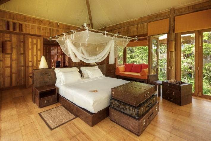 Soneva Kiri Resort Thailand - Beach Pool Villa Bedroom