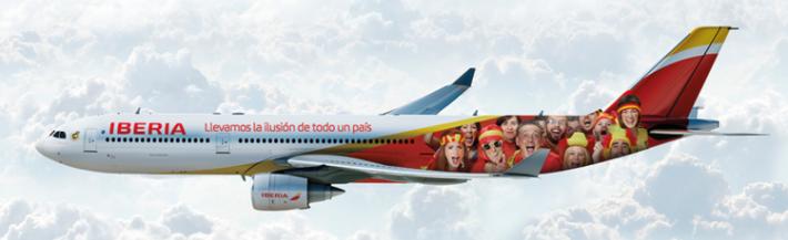Iberia seleccion espanola A330