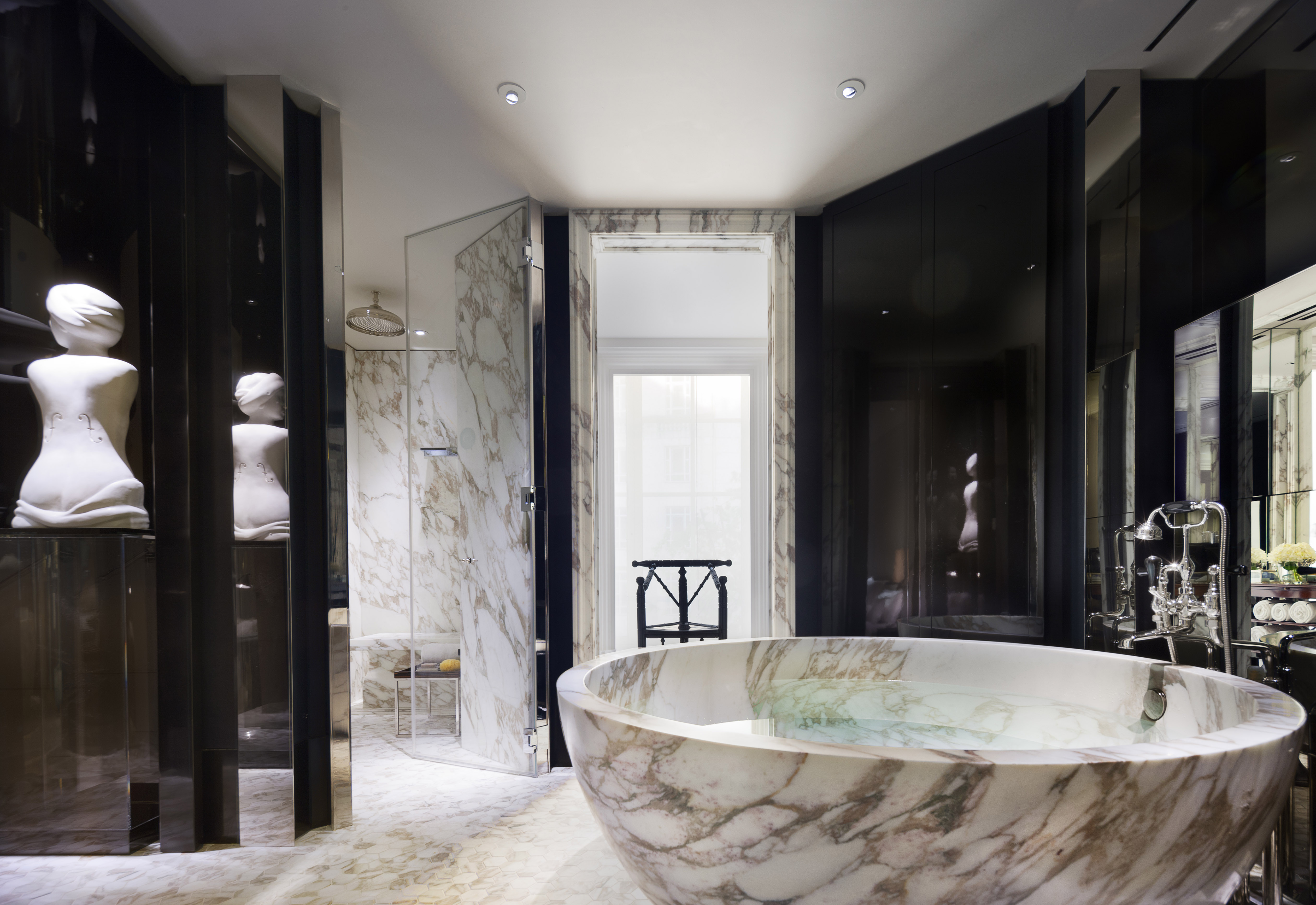 Rosewood london thedesignair for Bathroom interior design london