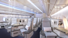 Finnair A350 Business class cabin 1