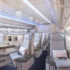 Finnair A350 Business class cabin 1