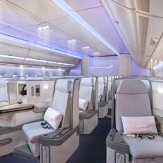 Finnair A350 Business class cabin 2