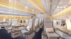 Finnair A350 Business class cabin 3