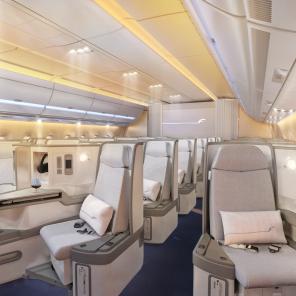 Finnair A350 Business class cabin 3