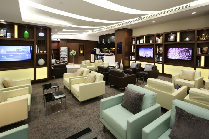 Etihad - Abu Dhabi Arrivals Lounge - PHOTO