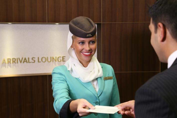 Etihad Airways Arrivals Lounge 3