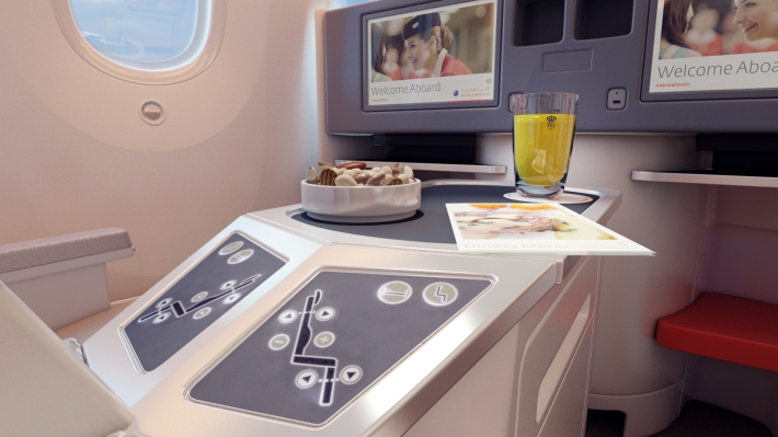 Royal Jordanian 787 Business Class
