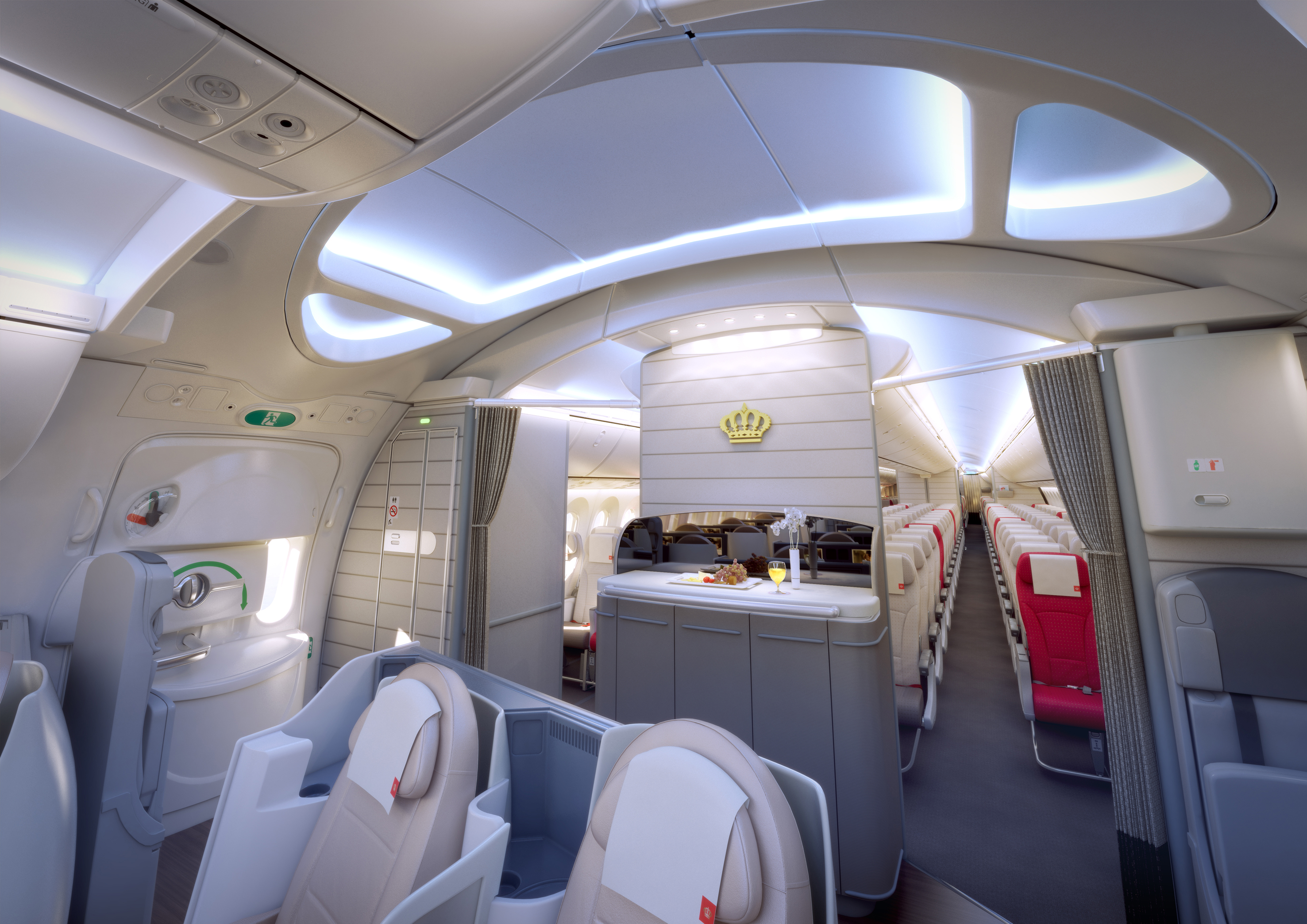 Royal Jordanian S 787 Offers Understated Luxury Thedesignair