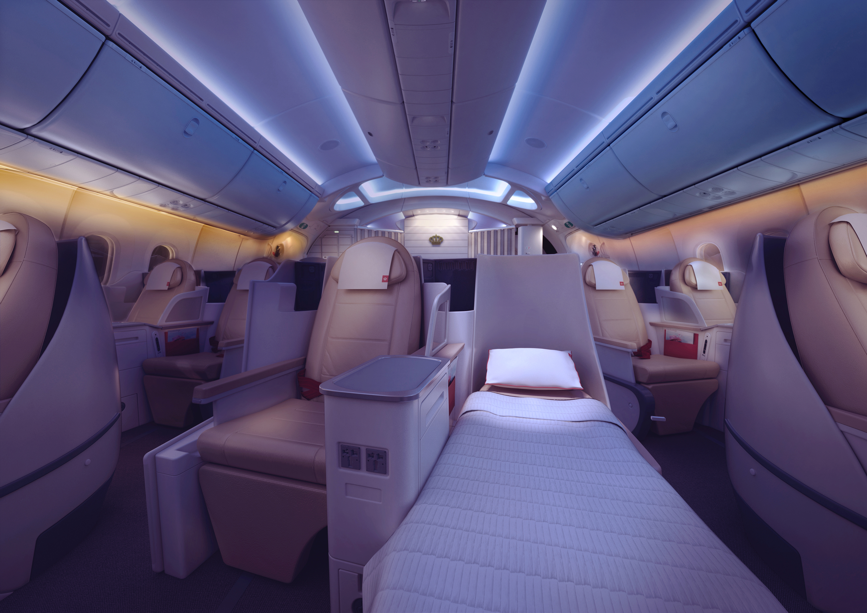 Royal Jordanians 787 Offers Understated Luxury