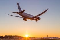787 sunset approach-0629