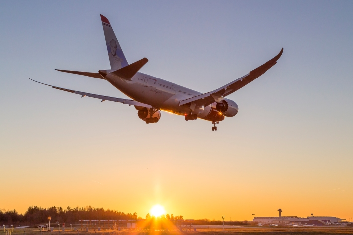 787 sunset approach-0629
