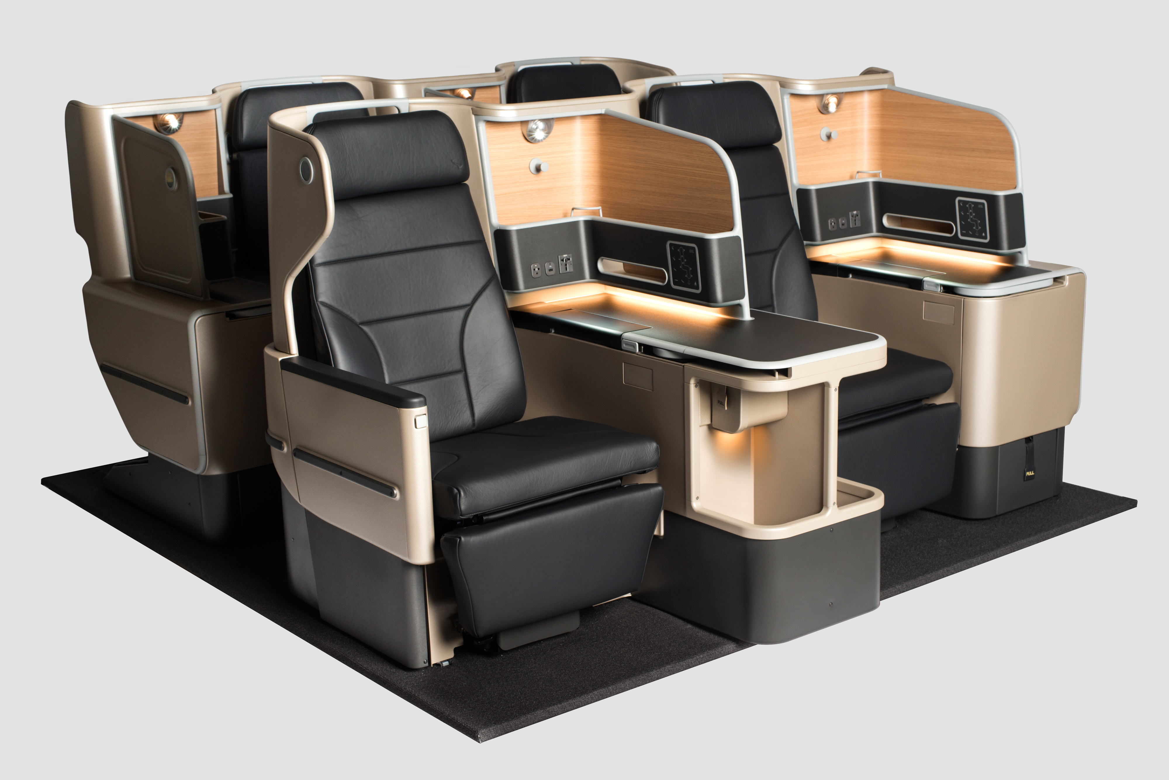 Qantas a330 business class seating unveiled thedesignair for Industrial design business