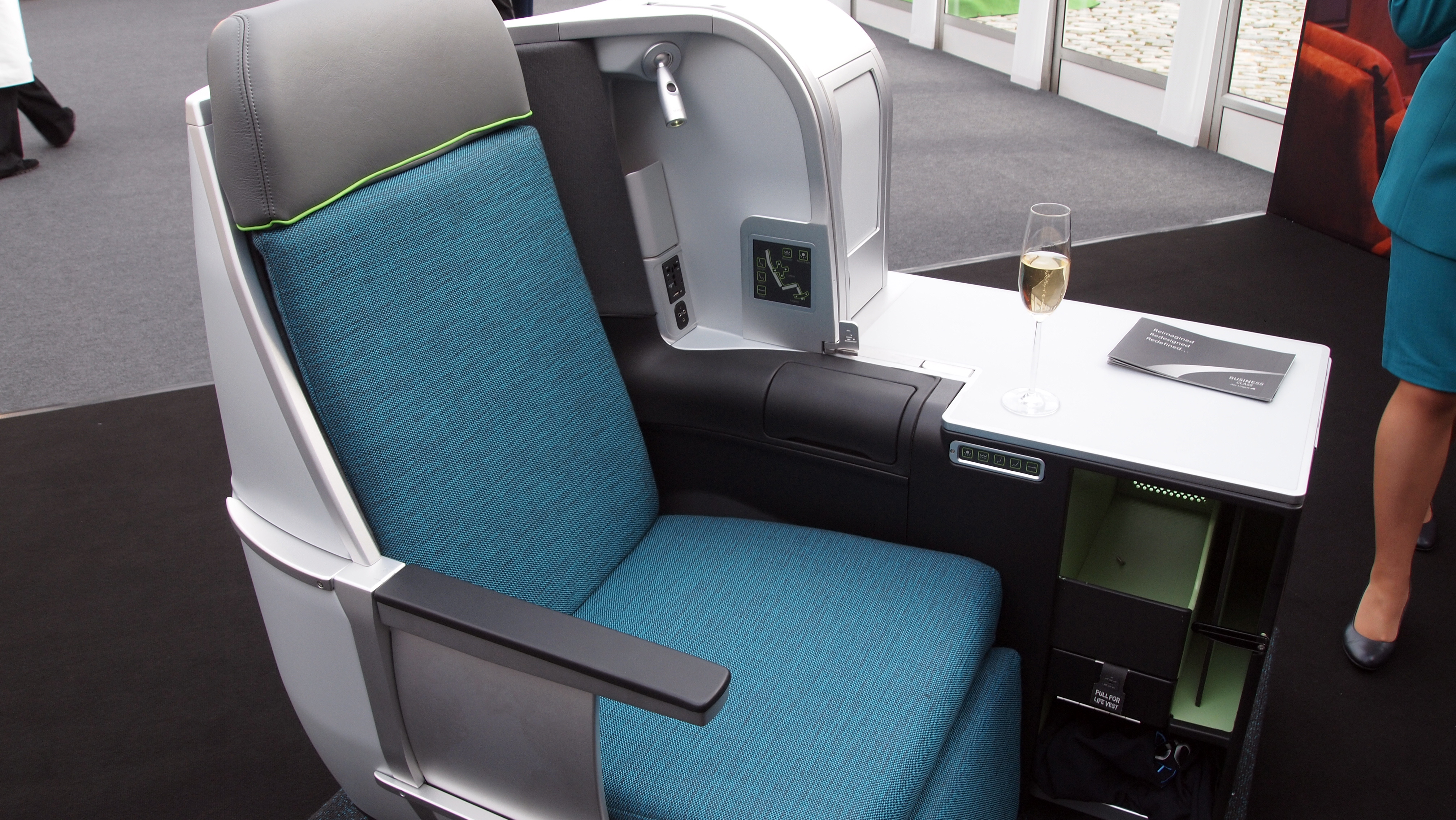 Aer Lingus New Business Class Seat Signals Change At The