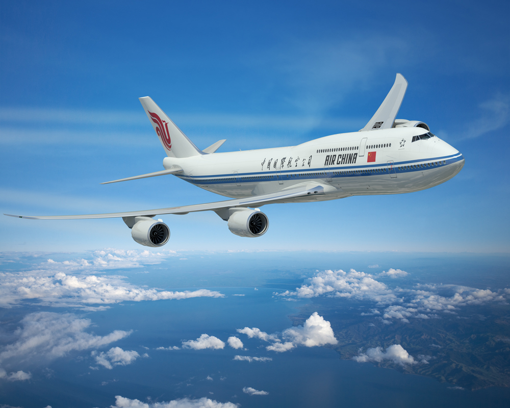 Air China 747-8 Interiors Announced by JPA Design