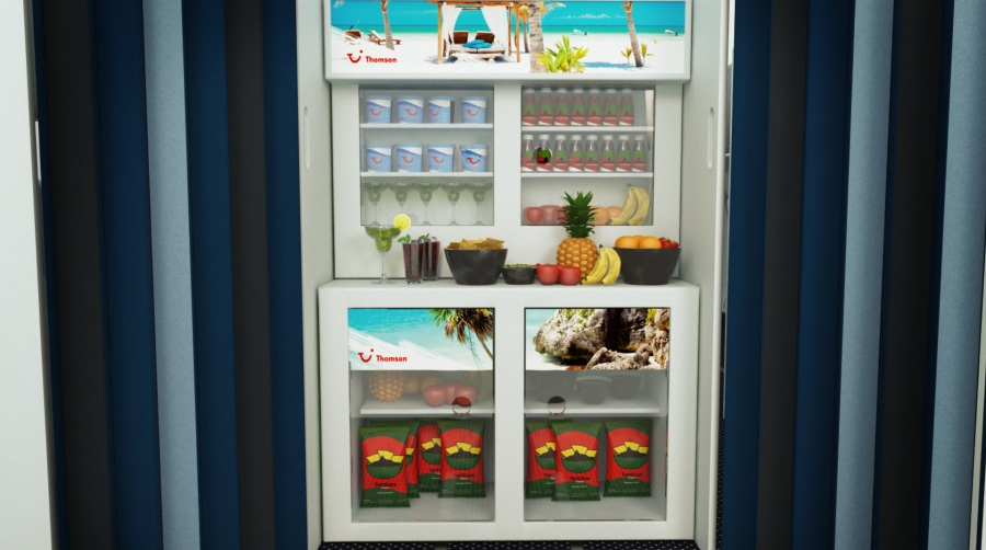Beach Snack Bar in Premium Club cabin (2)