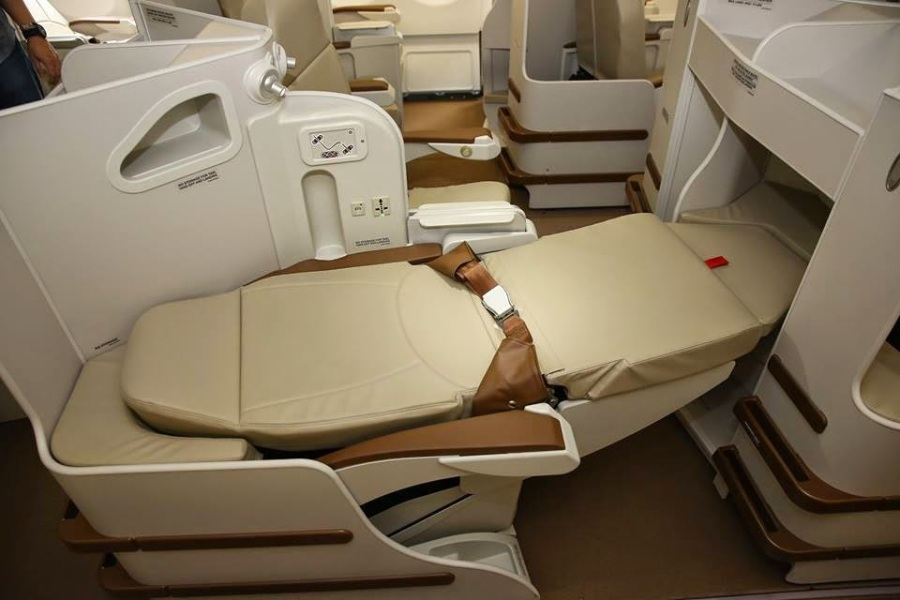 Business Class seats (PHOTO) Philippine Airlines 2