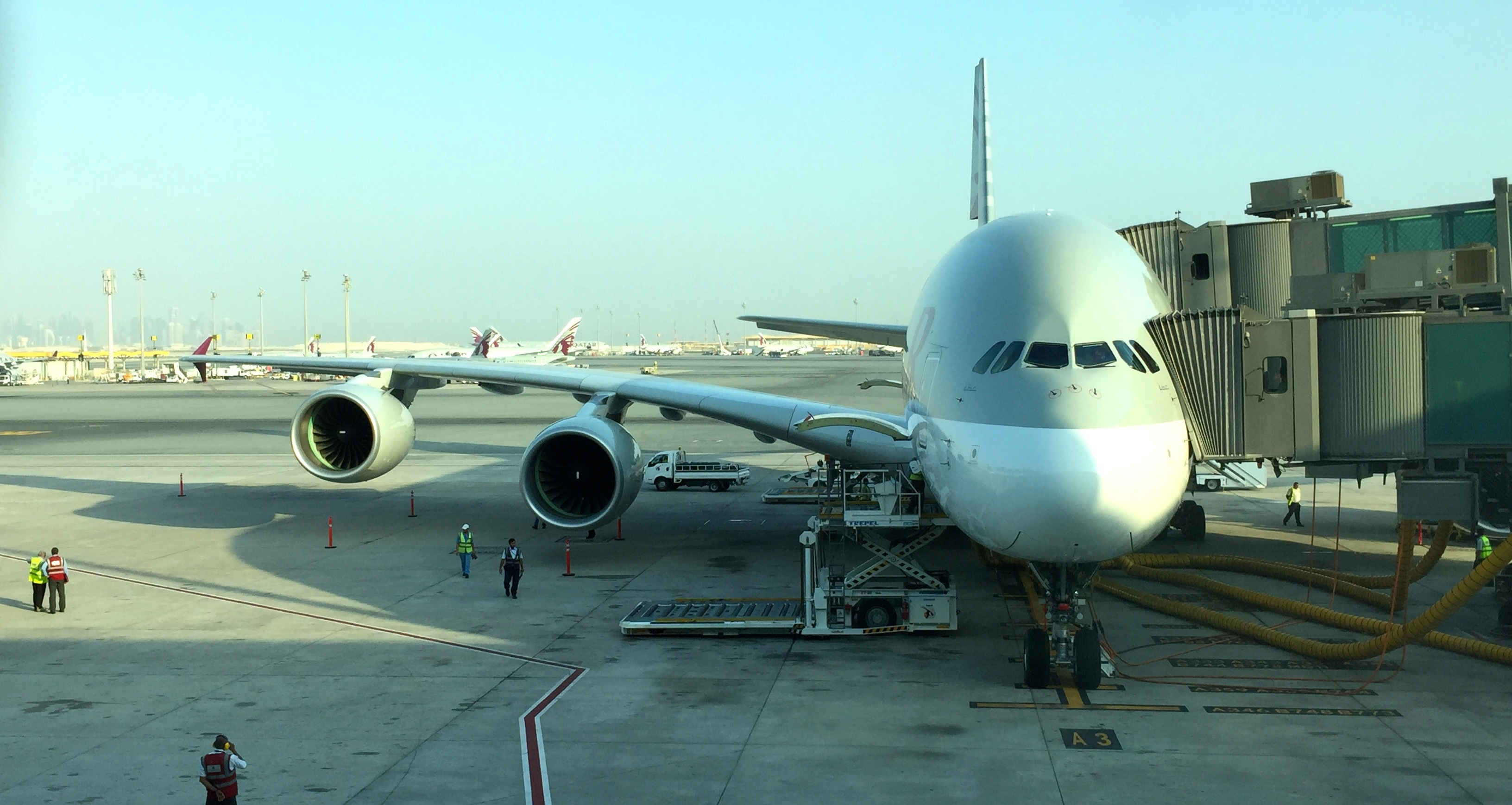 Image result for qatar a380