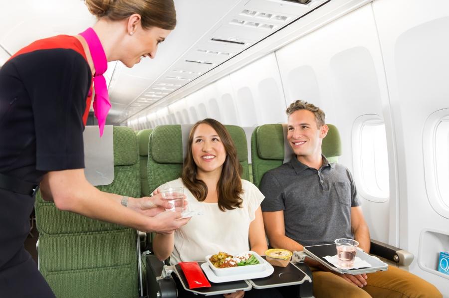 New Economy dining experience - service