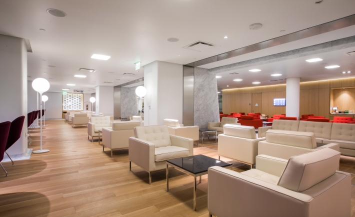 First Lounge LA seating 2
