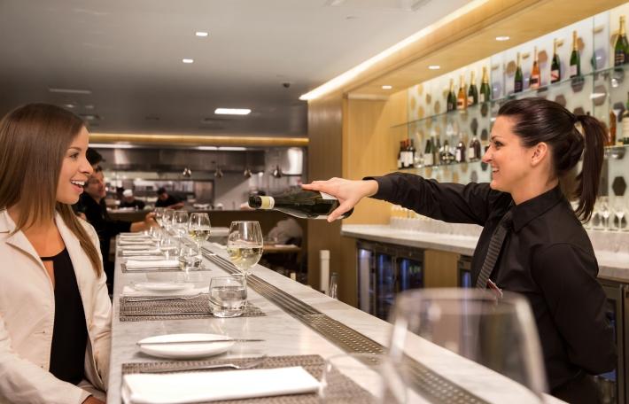 First Lounge LA wine