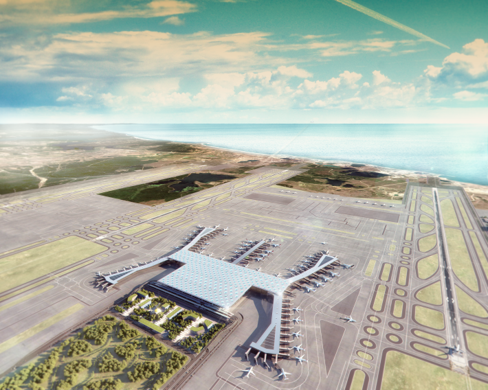 Istanbul New Airport_Aerial view