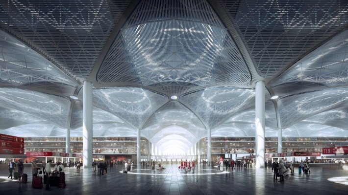 Istanbul New Airport_Departures 01