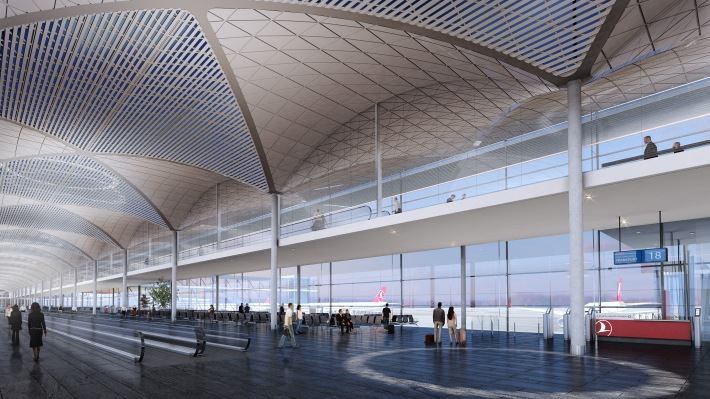 Istanbul New Airport_Departures 02