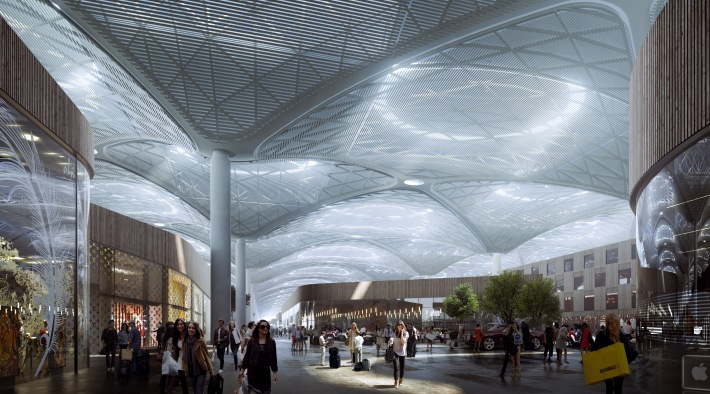 Istanbul New Airport_Retail area