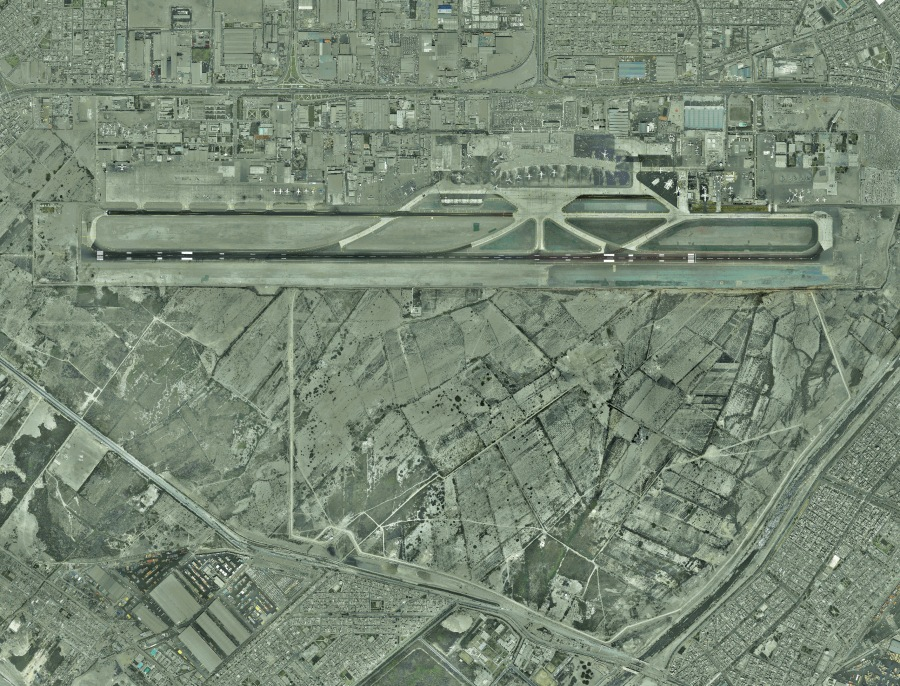 Jorge Ch†vez International Airport_ Exisiting site photo