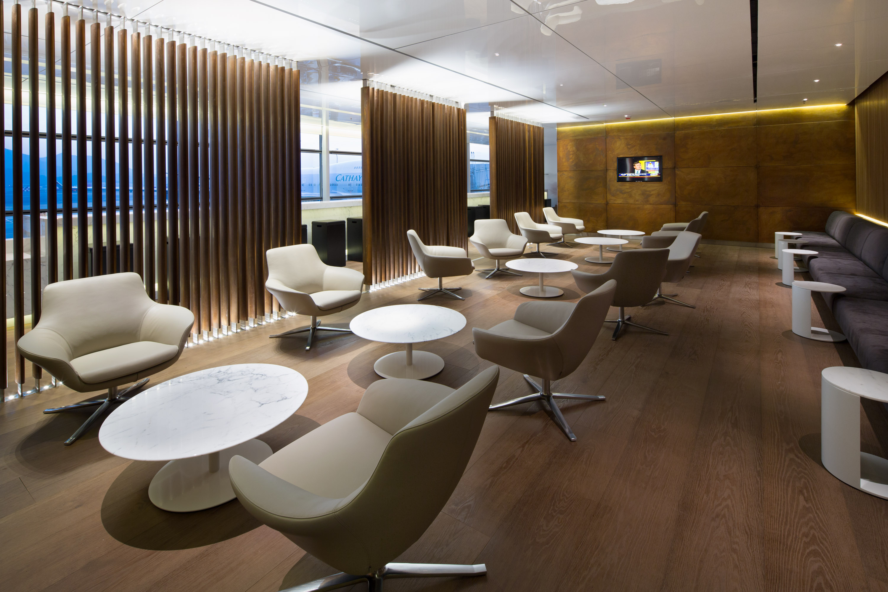 Thedesignair s top 10 airport lounges 2015 thedesignair for Lounge designs